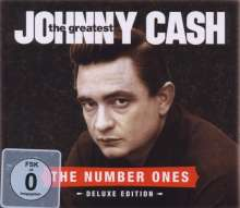 Johnny Cash: The Greatest (Deluxe CD+DVD Version), 1 CD und 1 DVD