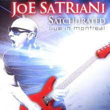 Joe Satriani: Satchurated: Live In Montreal 2010, 2 CDs