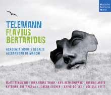 Georg Philipp Telemann (1681-1767): Flavius Bertaridus, 3 CDs