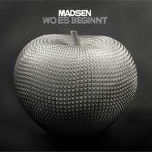 Madsen: Wo es beginnt, CD