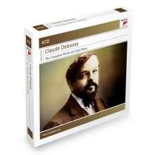Claude Debussy (1862-1918): Das Klavierwerk, 4 CDs