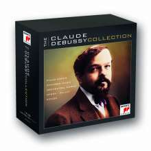 Claude Debussy (1862-1918): The Claude Debussy Collection, 18 CDs