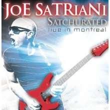 Joe Satriani: Satchurated: Live In Montreal 2010, Blu-ray Disc