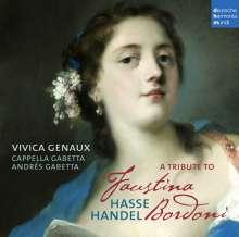 Vivica Genaux - A Tribute to Faustina Bordoni, CD
