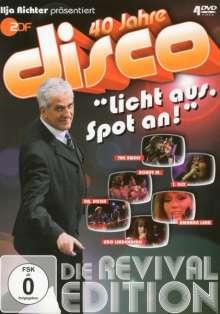Ilja Richter präsentiert 40 Jahre Disco: Revival Edition, 4 DVDs