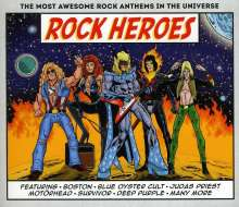 Rock Heroes, 3 CDs