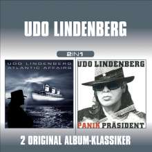 Udo Lindenberg: Atlantic Affairs / Der Panik-Präsident (2 in 1), 2 CDs
