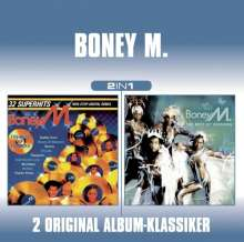 """Boney M.: In The Mix / The Best 12"""" Versions (2 in 1), 2 CDs"""