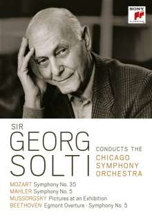 Sir Georg Solti conducts the Chicago Symphony Orchestra, 3 DVDs