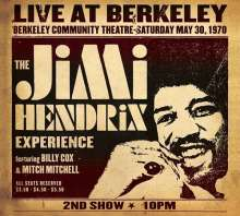 Jimi Hendrix: Live At Berkeley, CD