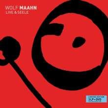 Wolf Maahn: Live & Seele (Limited-Edition), 3 LPs und 1 DVD