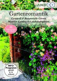 Gartenromantik: Cornwall & Romantische Gärten / Mansion Gardens & Landschaftsgärten, 2 DVDs