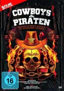 Cowboys & Piraten (5 Filme auf 2 DVDs), 2 DVDs