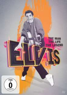 Elvis Presley - The Man, The Life, The Legend, DVD