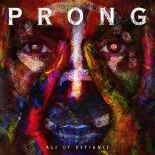 "Prong: Age Of Defiance (Orange Vinyl With Black Splatter), Single 12"""