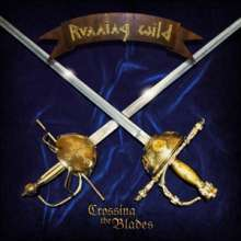 "Running Wild: Crossing The Blades (Translucent Blue Vinyl), Single 12"""