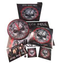 Axel Rudi Pell: Sign Of The Times (Limited Deluxe Boxset) (Red Translucent Vinyl), 2 LPs und 1 CD