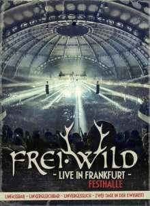 Frei.Wild: Live in Frankfurt - Festhalle 2013 (2CDs + 2 DVDs), 4 CDs