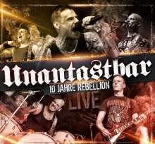 Unantastbar: 10 Jahre Rebellion - Live (2CD + DVD), 2 CDs