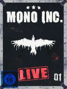 Mono Inc.: Live, 2 DVDs