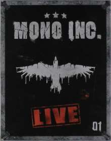 Mono Inc.: Live (Limited Deluxe-Box), 3 CDs
