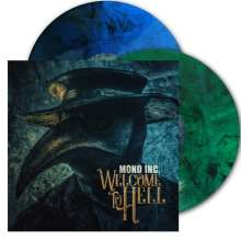 Mono Inc.: Welcome To Hell (Blue & Green Marble Vinyl), 2 LPs