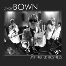 Andy Bown: Unfinished Business, CD