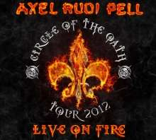 Axel Rudi Pell: Live On Fire (180g) (Limited Edition) (Colored Vinyl), 3 LPs