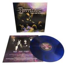 Battleaxe: Power From The Universe (Limited Edition) (Blue with Black Swirls Vinyl), LP