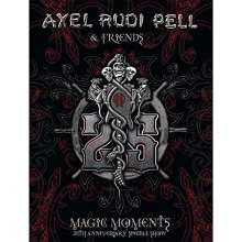 Axel Rudi Pell: Magic Moments (25th Anniversary Special Show), 3 DVDs
