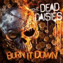 The Dead Daisies: Burn It Down (180g) (Limited-Edition) (Red/Black Splattered Vinyl), 2 LPs