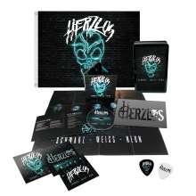 Herzlos: Schwarz-Weiß-Neon (Limied-Edition-Fanbox), CD