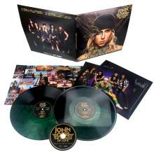 John Diva & The Rockets Of Love: Mama Said Rock Is Dead (180g) (Green Vinyl W/ Black Swirls), 2 LPs und 1 CD