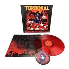 Turbokill: Vice World (Red w/ Black Splatter Vinyl), 2 LPs