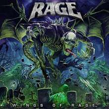 Rage: Wings Of Rage (Box Set) (Limited Edition) (Colored Vinyl), 2 LPs und 1 CD