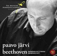 Ludwig van Beethoven (1770-1827): Symphonien Nr.3 & 8, SACD