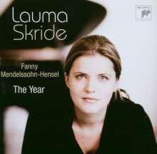 Fanny Mendelssohn-Hensel (1805-1847): Das Jahr - 12 Charakterstücke für Klavier, CD