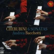 Luigi Cherubini (1760-1842): Klaviersonaten Nr.1-6, SACD