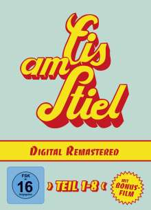 Eis am Stiel 1-8 (Digital Remastered), 9 DVDs
