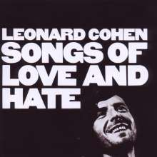 Leonard Cohen (1934-2016): Songs Of Love And Hate + 1, CD