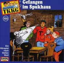 TKKG (Folge 155) - Gefangen im Spukhaus, CD