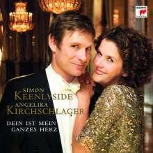 Simon Keenlyside & Angelika Kirchschlager - Dein ist mein ganzes Herz, CD