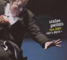 Stefan Gwildis: Let's Did It - Live 2003-2007 (2CD + DVD), 2 CDs