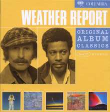 Weather Report: Original Album Classics Vol.1, 5 CDs