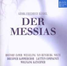 Georg Friedrich Händel (1685-1759): Der Messias (in dt.Sprache), 2 Super Audio CDs