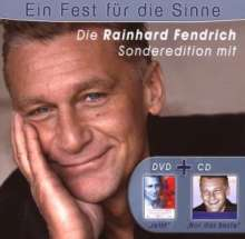 Rainhard Fendrich: Ein Fest für die Sinne - Sonderedition (CD + DVD), 1 CD und 1 DVD