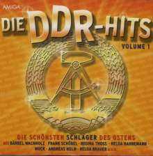 Die DDR Hits Vol. 1, CD