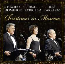 Christmas in Moscow - Placido Domingo, Sissel Kyrkjebo, Jose Carreras, CD