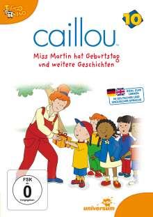 Caillou Vol.10, DVD