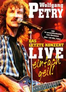 Wolfgang Petry: Das letzte Konzert: Live - Einfach geil, DVD